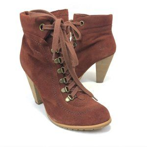 Seychelles Women's Biography Ankle Boot Rust Color